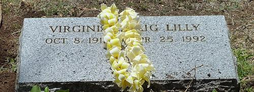 Ginger\'s headstone