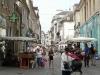 busy little side street in Dijon