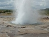 Geyser goes off