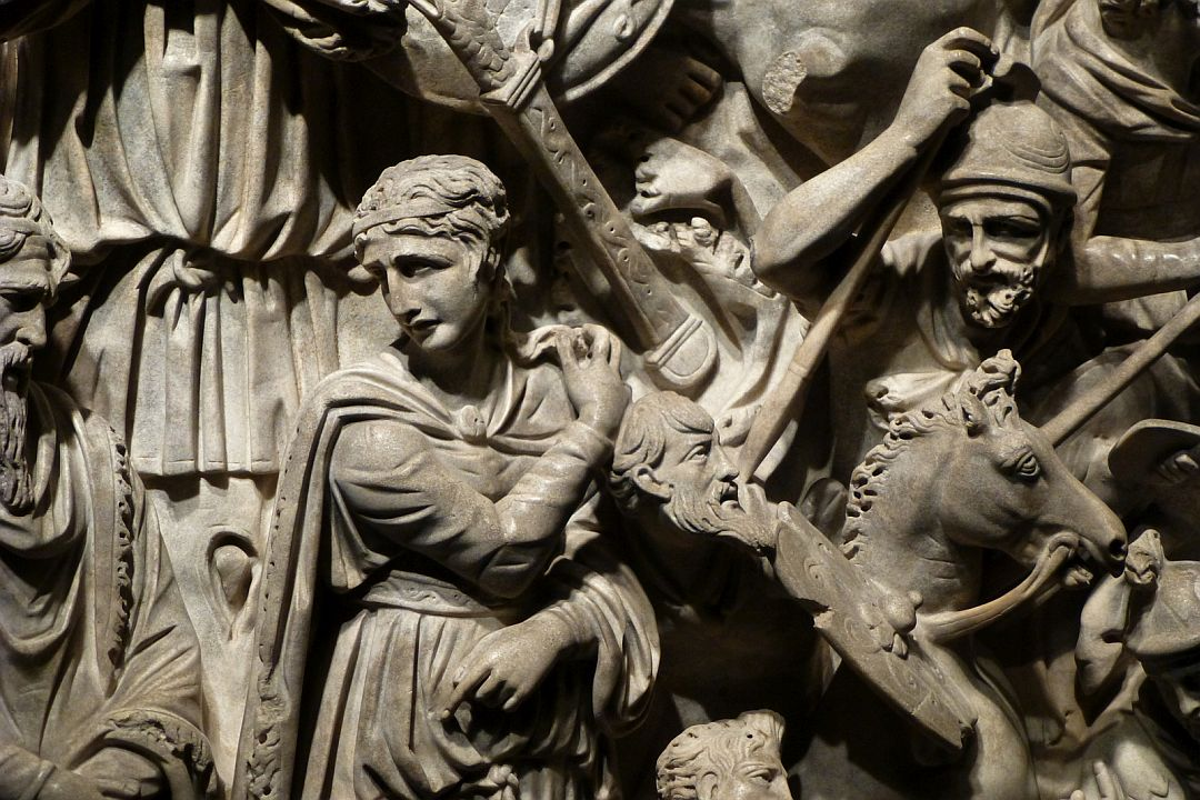 carving-on-funeral-crypt-at-the-national-museum