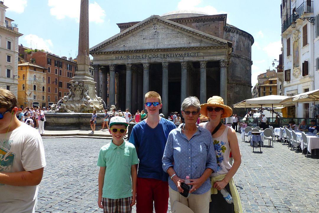 grandmother-mother-and-2-boys-at-the-parthenon